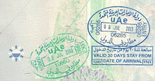 Your visa lapses 6 months after exiting UAE