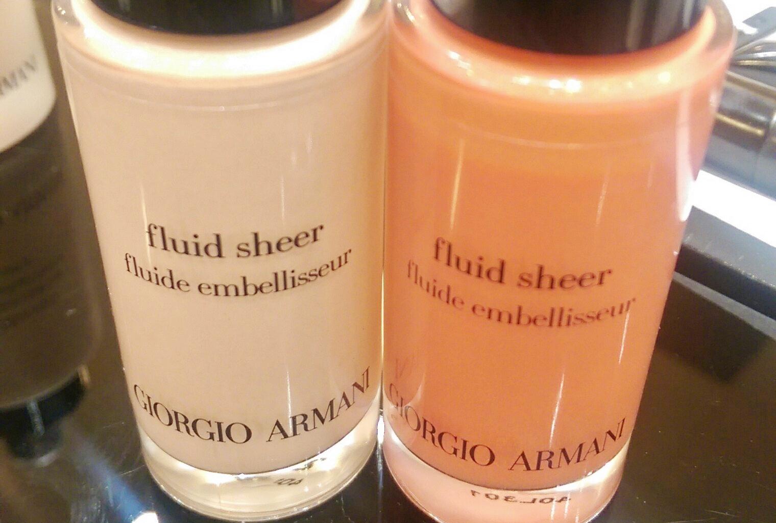 Giorgio Armani Fluid Sheer