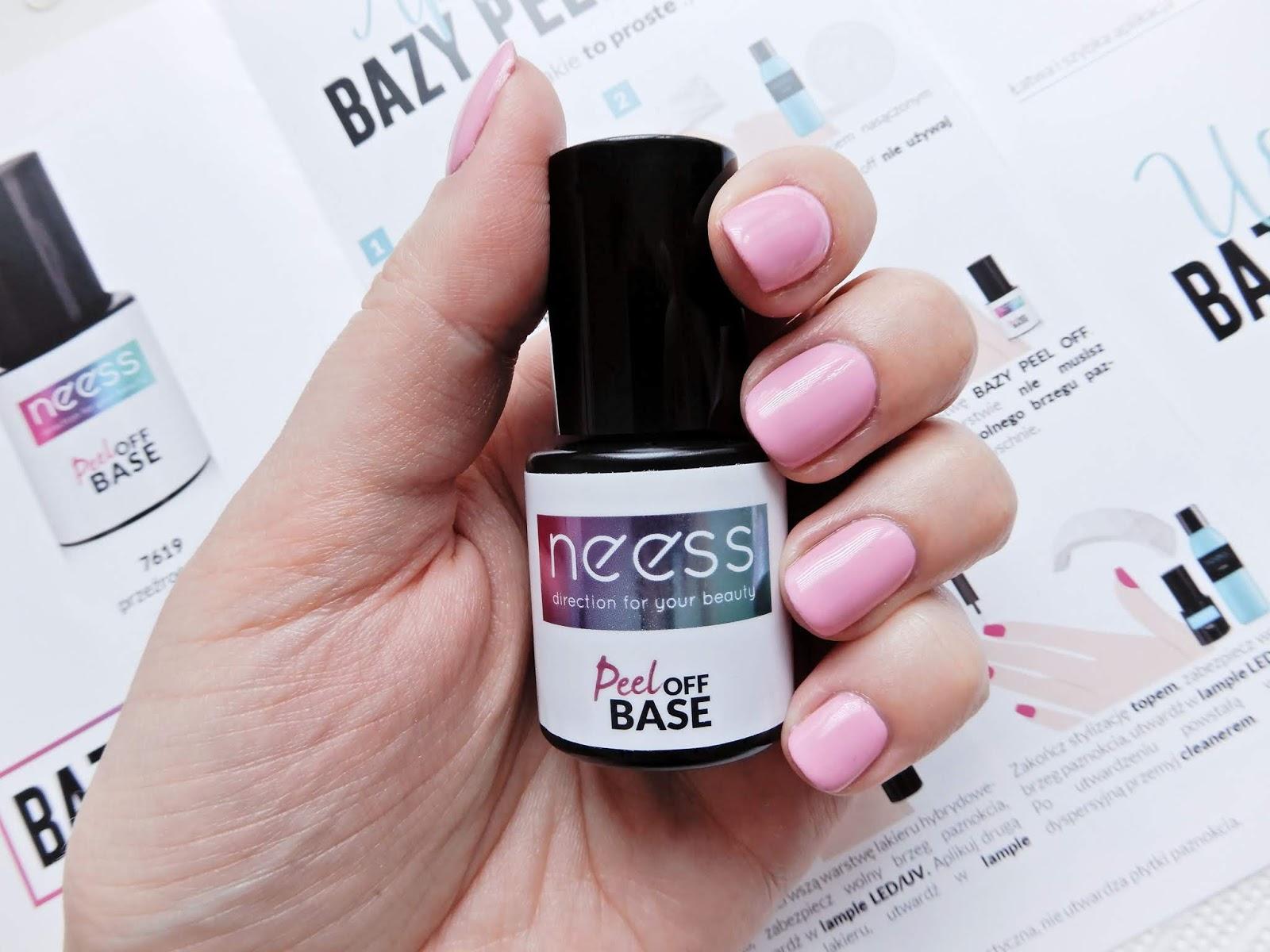 Neess Baza Peel Off | Rewolucja w manicure hybrydowym?