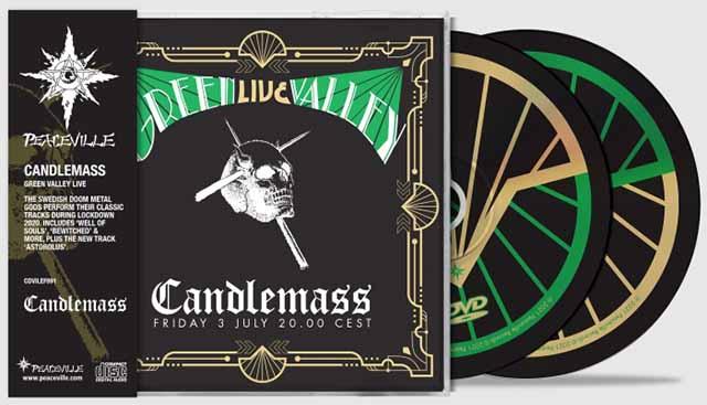 """Ο δίσκος των Candlemass """"Green Valley"""""""