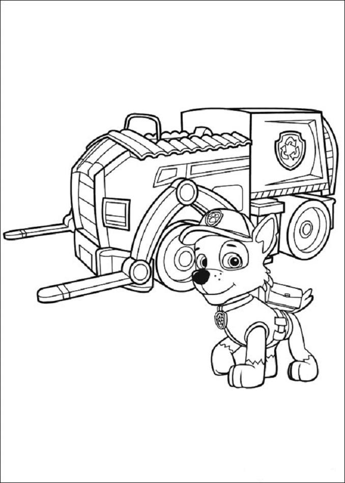 Patrulla Canina Dibujos Para Colorear Patrulla Canina Dibujos Para