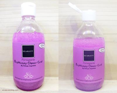 Review Body Care Scarlett Whitening, Body Scrub, Shower Scrub & Body Lotion