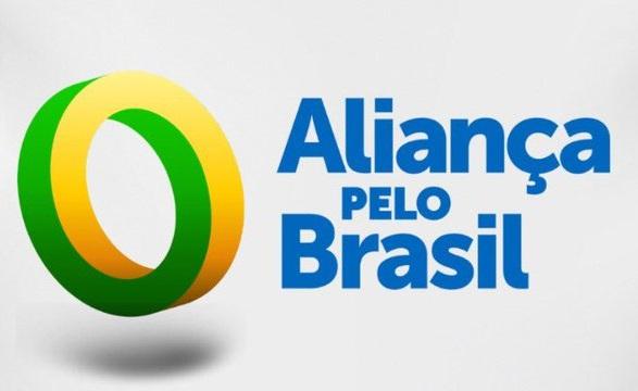 Logo do novo partido: Aliança pelo Brasil