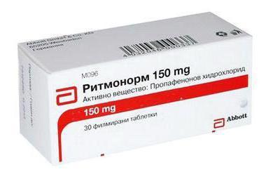 سعر ودواعي إستعمال أقراص ريتمونورم Rytmonorm دواء للقلب