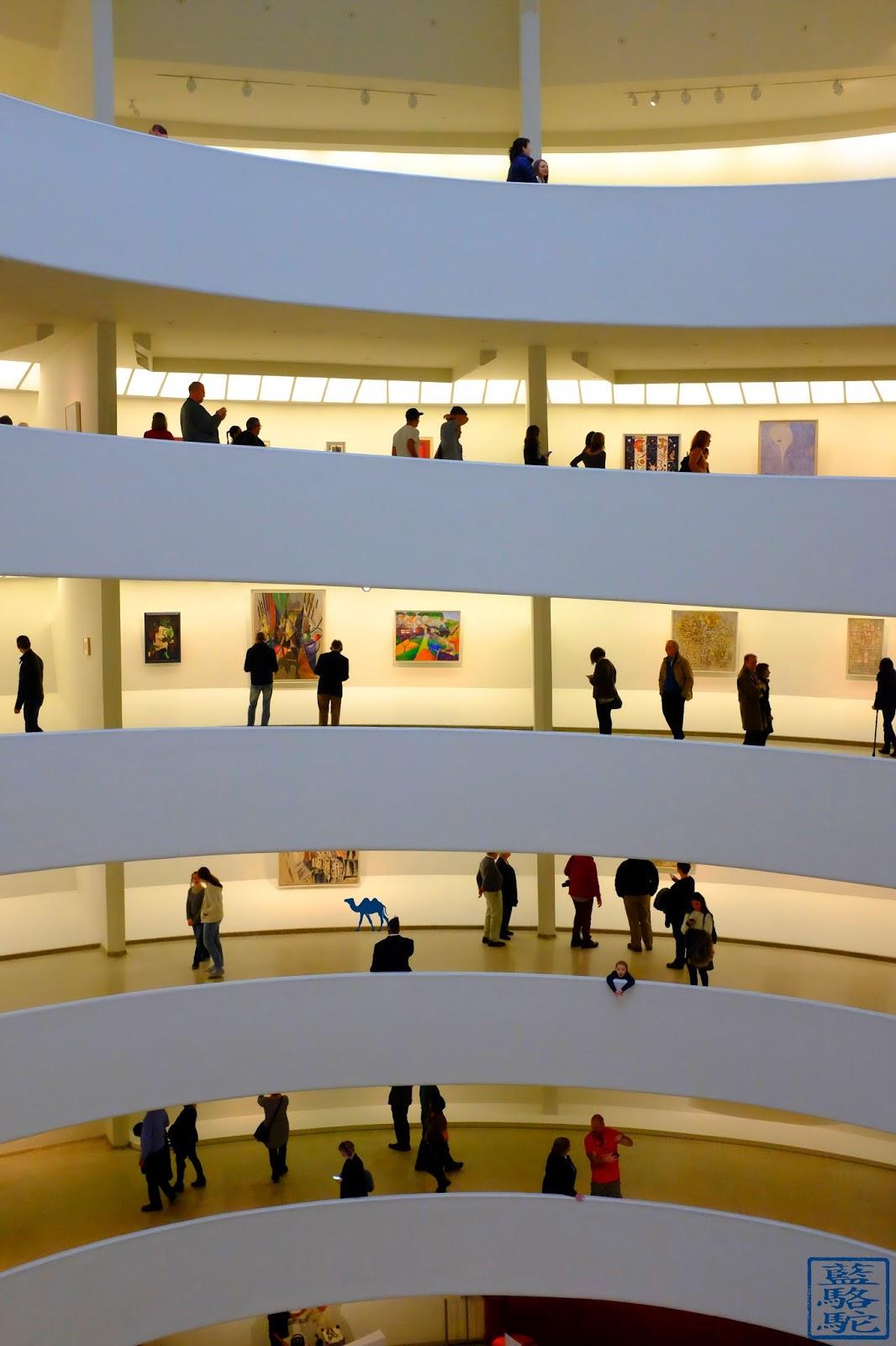 Le Chameau Bleu - Escapade à New York - Intérieur du Musée Guggenheim