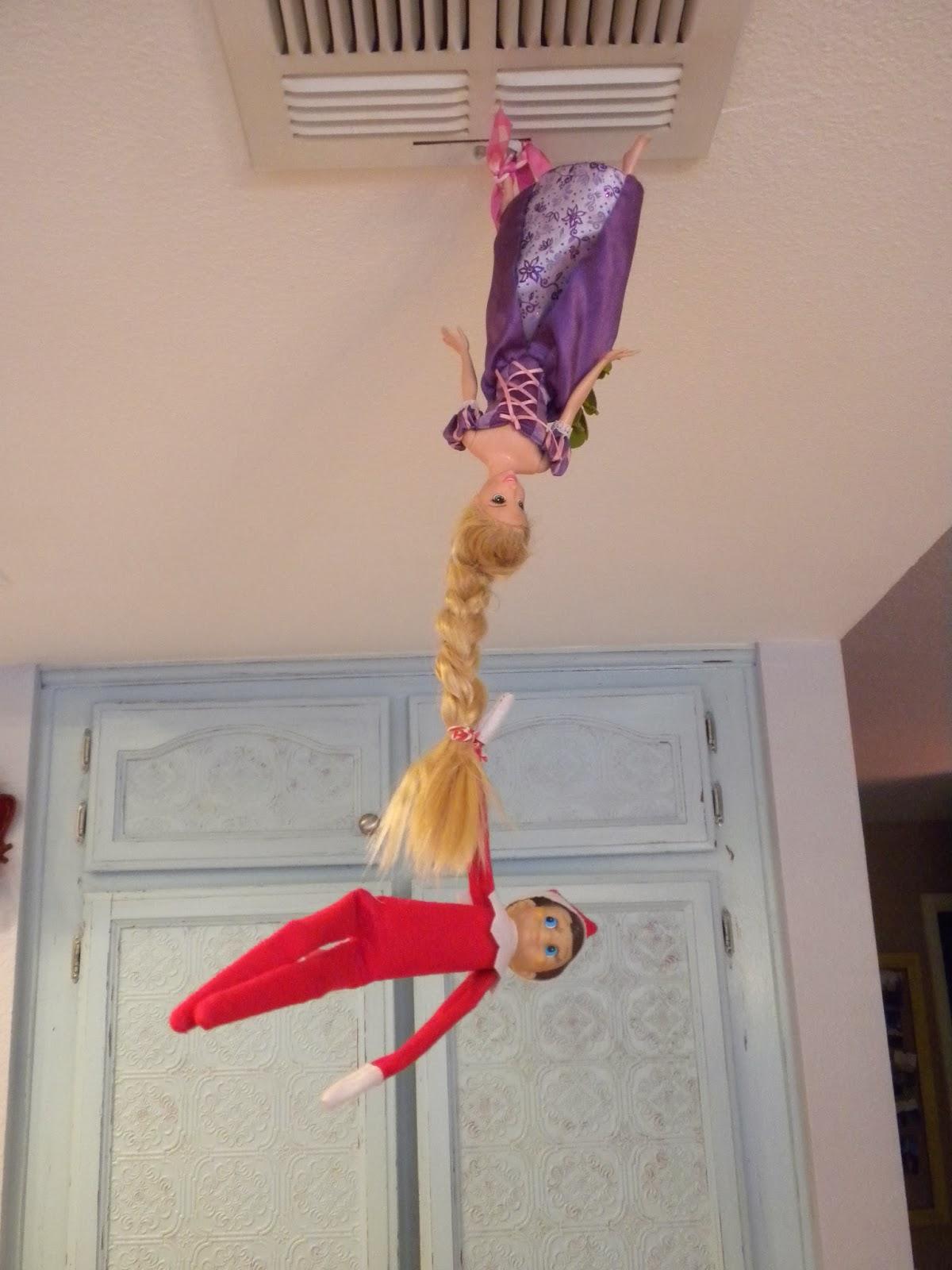 Jedi Craft Girl Elf On The Shelf Ideas