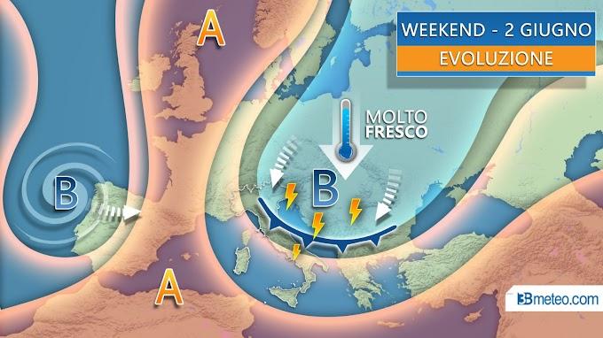 3BMeteo: ''Ponte del 2 giugno tra sole e improvvisi temporali''
