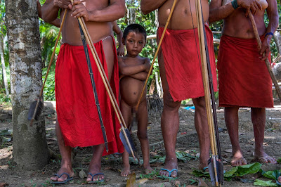 2 Photos: The Lives Of Amazonian Waiapi Tribe As They Battle Against Extinction Lifestyle