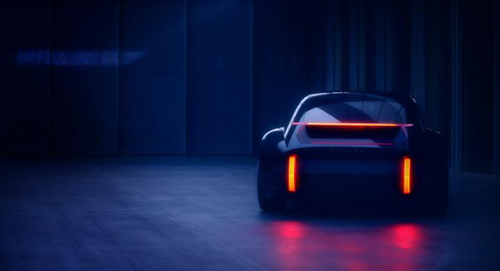 현대자동차, EV 콘셉트카 '프로페시' 티저 이미지 공개