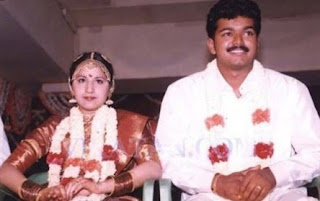 Vijay Thalapathy Family Wife Parents children's Marriage Photos