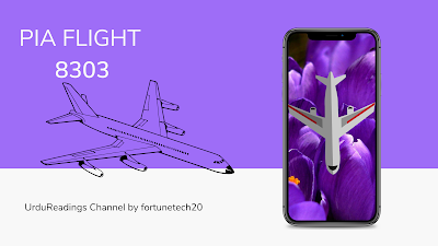 Flight  8303 and Misfortune traveler, fortunetech20, urdureadings