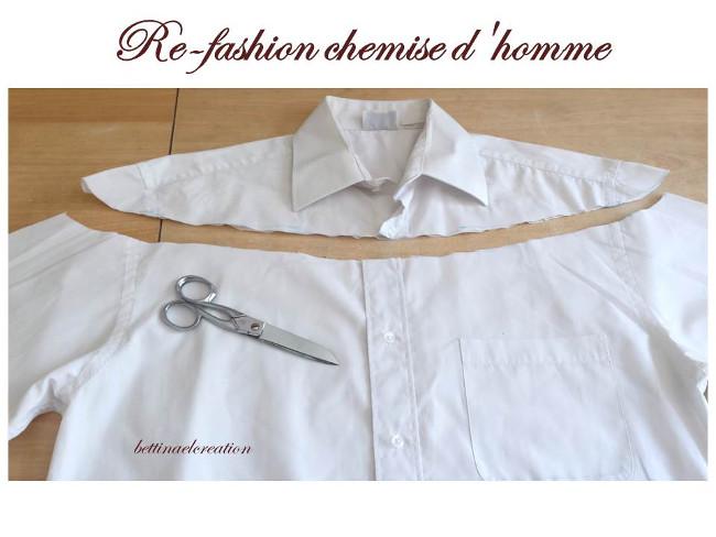 id e couture que faire avec une chemise d 39 homme bettinael passion couture made in france. Black Bedroom Furniture Sets. Home Design Ideas