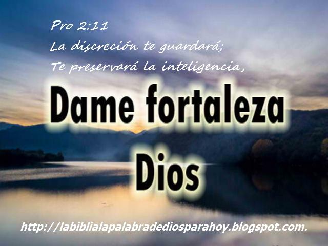 Santa Biblia Dios habla hoy-Proverbios 2:11