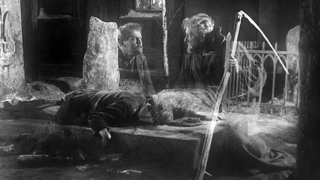 Extrait de La Charrette fantôme de Victor Sjöström (1921)