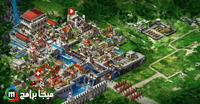 لعبة الحروب الإستراتيجية Game of War - Fire Age