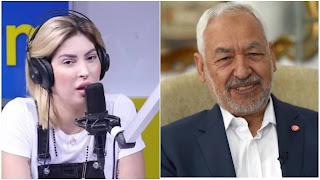 مريم الدباغ: انا نهضاوية و يعجبني الغنوشي على خاطرو بقووس و مثقف و يحكي بالإنجليزية و عمل برشا حاحات لتونس