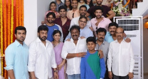 Chiranjeevi's 150 Film Launched, Pawan Kalyan Absent