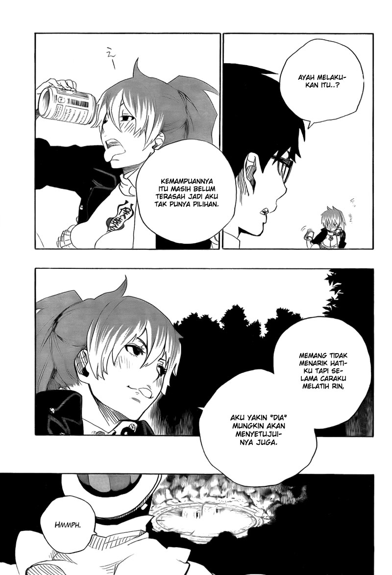 Ao no Exorcist Chapter 12-12