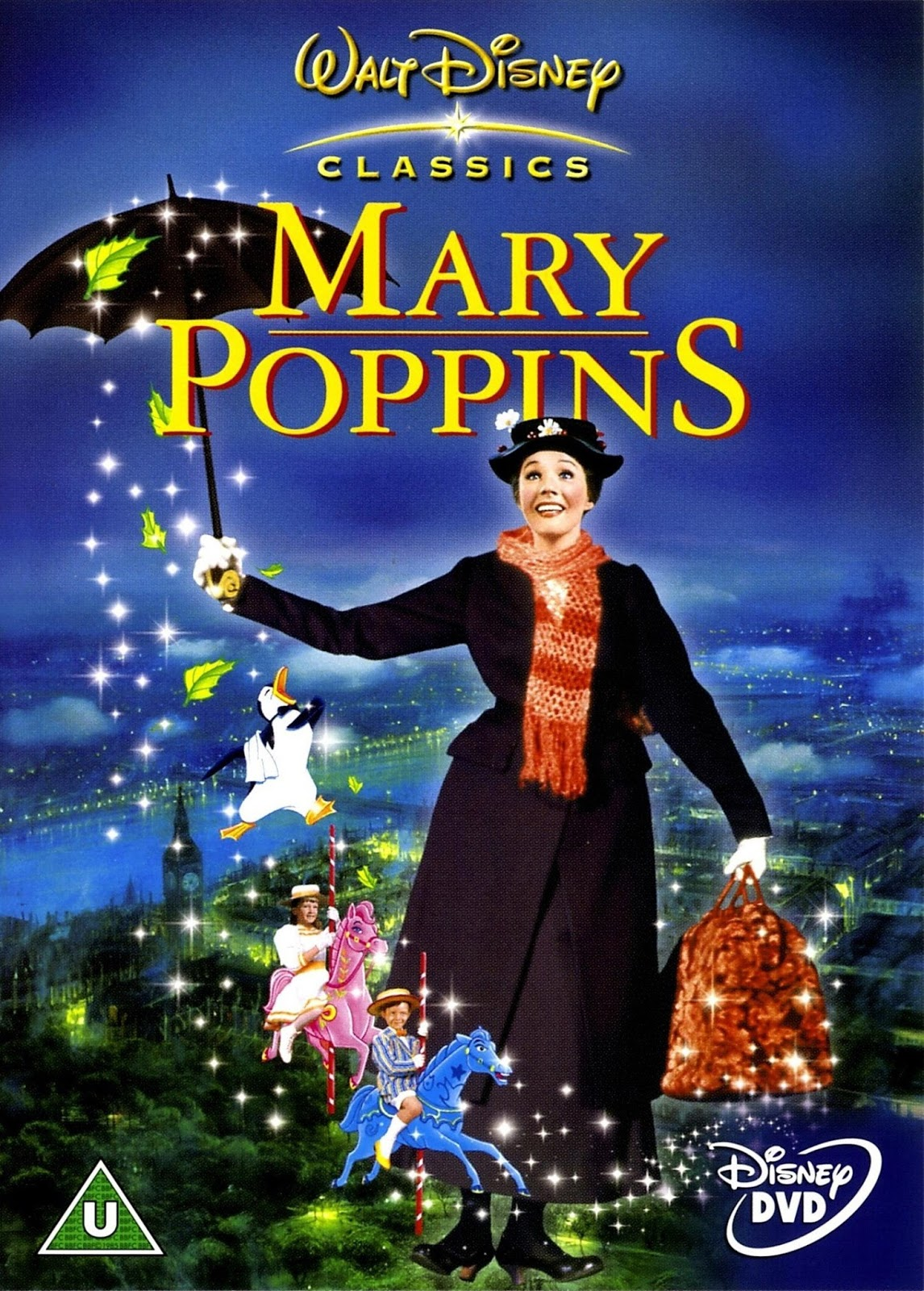 Fairmont blog a to z 10 classic movies to share with - Mary poppins wallpaper ...