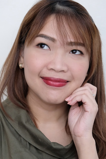 a photo of Flormar Prime N' Lips Deep Bordeaux review by Nikki Tiu of www.askmewhats.com