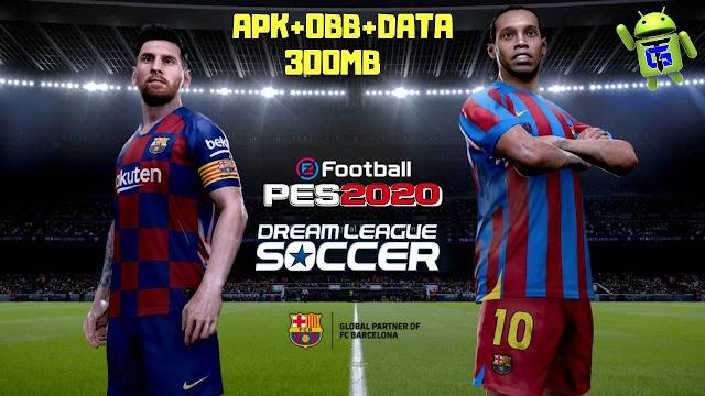 Download & play DLS20 Mod PES 2020 Offline APK OBB Data
