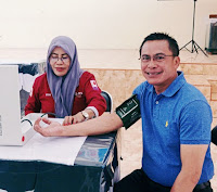 "Alumni SMANSABI 94 Sukses ""Giring"" Wakil Walikota Bima Gelar Aksi Donor Darah"
