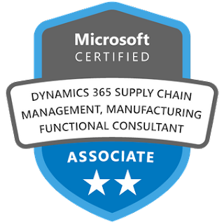 Microsoft Certified: Dynamics 365 Finance and Operations Apps Developer Associate