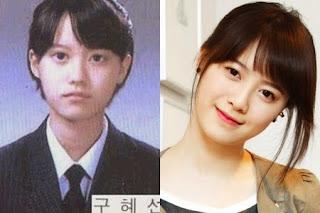 foto pre debut masa kecil goo hye sun