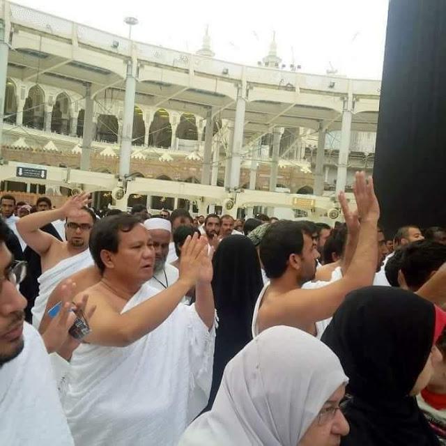 Prabowo-Amien Rais-PKS Bertemu Habib Rizieq di Makkah, Bikin Cemas Koalisi Istana