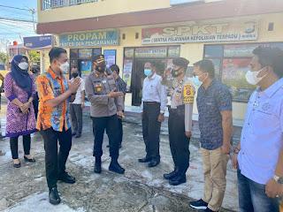 AKBP Irwan Sunuddin Sambut  Tim Penilai Zona Integritas dari Mabes Polri