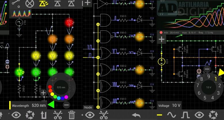 EveryCircuit - Aplicativo gratuito para engenharia elétrica, eletrônica, robótica e afins!