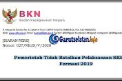 Pemerintah Tidak Batalkan Pelaksanaan SKB CPNS Formasi 2019