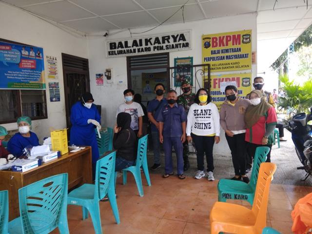 Sweb Kepada Karyawan Pabrik Diwilayah Binaan, Personel Jajaran Kodim 0207/Simalungun Monitor Pelaksanaannya