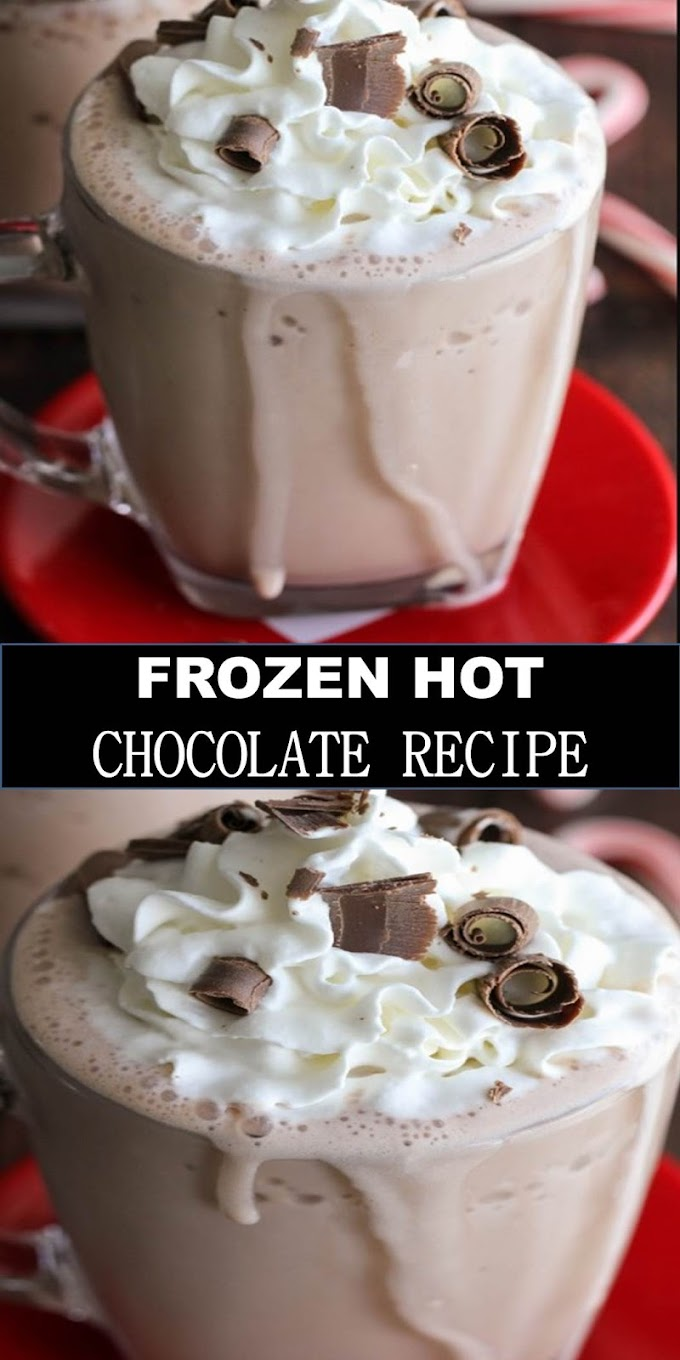 #BEST #DRINK #FROZEN #HOT #CHOCOLATE #RECIPE