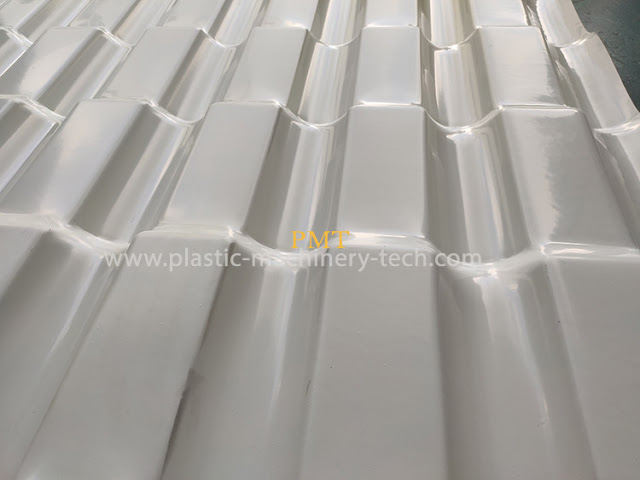 Comparison of synthetic resin tile and glazed tile