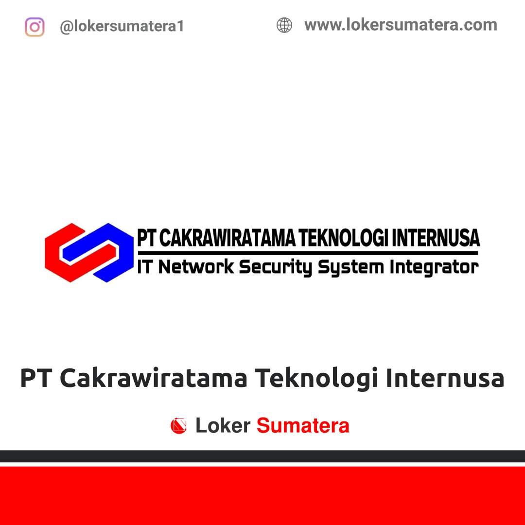 Lowongan Kerja Pekanbaru: PT Cakrawiratama Teknologi Internusa Desember 2020
