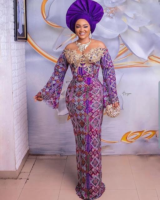 The 20 Best of Owambe Aso Ebi Dresses 37