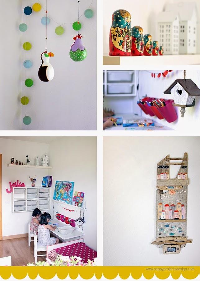 Decoración habitación niñas HappyProjectsDesign