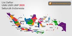 Daftar UMR UMK UMP Tahun 2020 Seluruh Indonesia