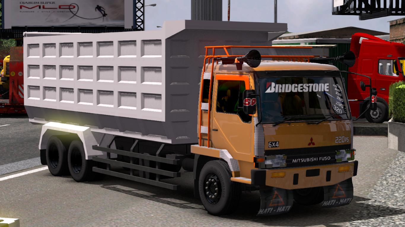 ets2 Mitsubishi Fuso V2 ETS2 BY SMT - Mod Euro truck simulator ETS2