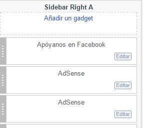 Caja de Facebook en tu blog. 1