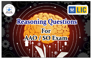 Reasoning Questions (Input and Output) for LIC AAO/IBPS SO Exams