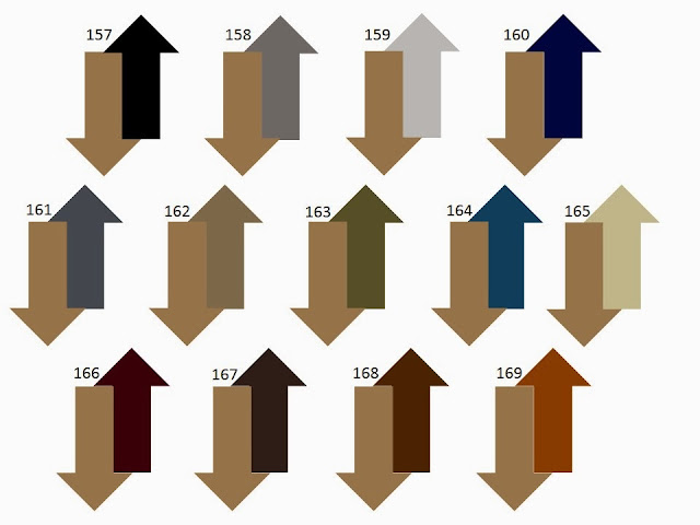 13 combinations of a secondary neutral color with camel