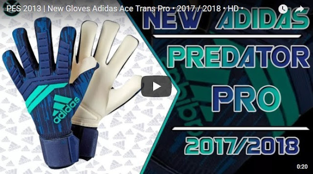 Gloves Gloves Adidas Predator Pro High 2017-2018 PES 2013