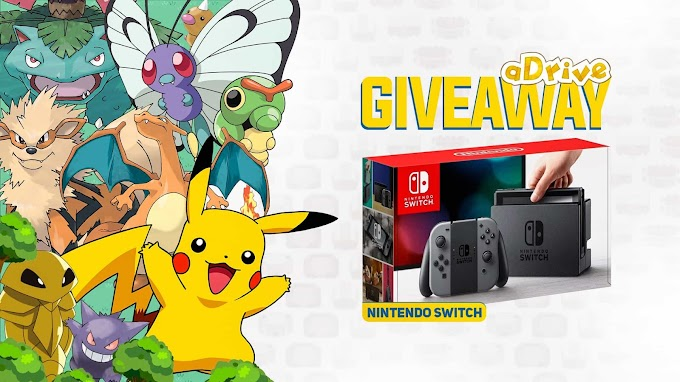 Sorteio Entre Agora e Concorra a Um Nintendo Switch!