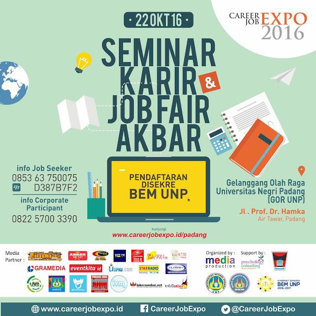 Seminar Karir & Job Fair Akbar Padang