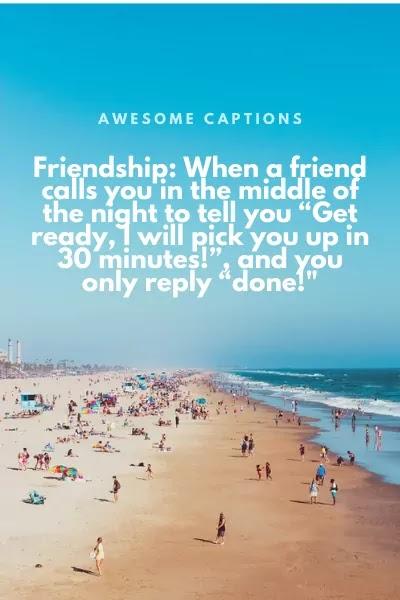 best friends ig caption