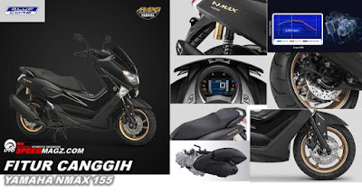 fitur  Yamaha NMAX 155