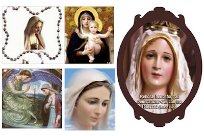 Marian feasts, date and significance and blessing and indulgences attached to the rosary