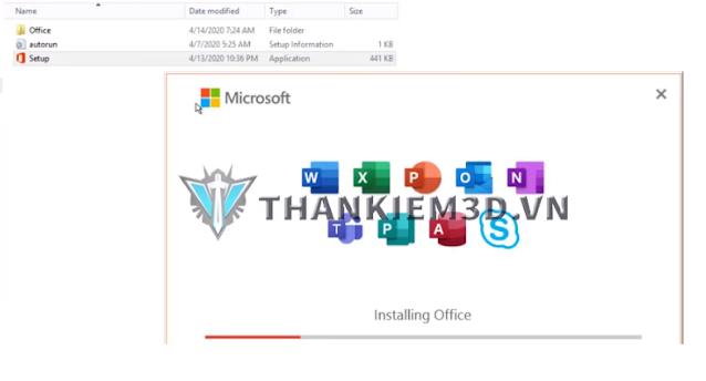 huong dan tai Microsoft Office 365 full active
